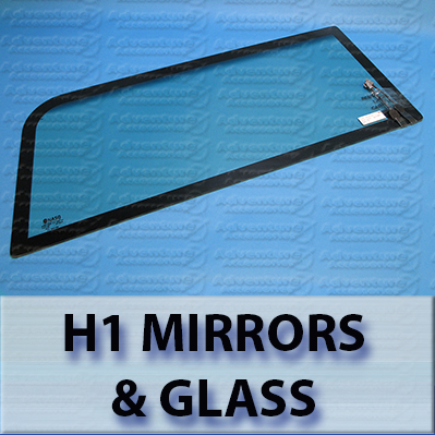 Hummer H1 Windshields, Mirrors and Glass